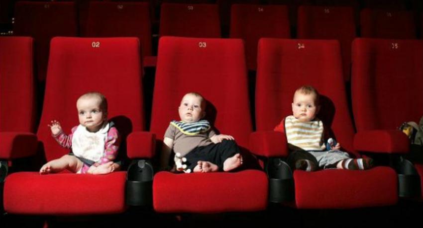 prohibición bebés en el cine